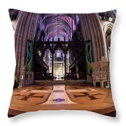 National Cathedral - 2 Throw Pillow