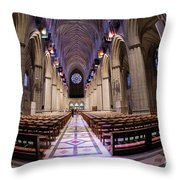 National Cathedral - 3 Throw Pillow
