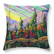 Nature Expression Throw Pillow