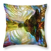 Nature Reflections Throw Pillow
