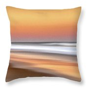 Nauset Beach 5 Throw Pillow