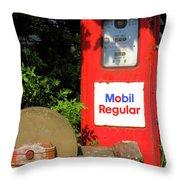 Need Gas? Throw Pillow