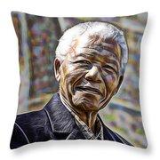 Nelson Mandela Collection Throw Pillow