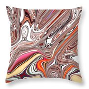 Neural Abstraction #4 Throw Pillow