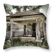 New Orleans House No. 7 Throw Pillow