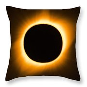 Total Eclipse Throw Pillow