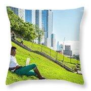 New York City Life Throw Pillow