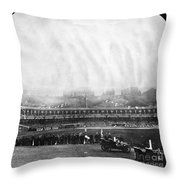 New York: Polo Grounds Throw Pillow