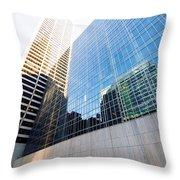 New York Street Throw Pillow