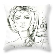 News From Outer Space Throw Pillow