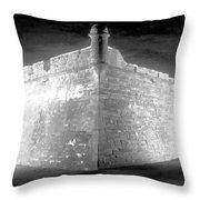Night At The Castillo Throw Pillow