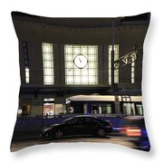 Night City Throw Pillow