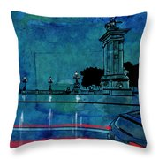 Nightscape 04 Throw Pillow