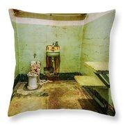 Alcatraz Cell 1 Throw Pillow