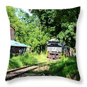 Norfolk Southern Throw Pillow