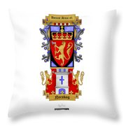 Norskog Coat Of Arms Throw Pillow