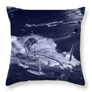 November Creek 3 Throw Pillow