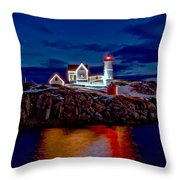Nubble Light Throw Pillow