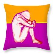 Nude 10 Throw Pillow