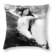 Nude Model, 1903 Throw Pillow