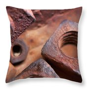 Nutz Throw Pillow
