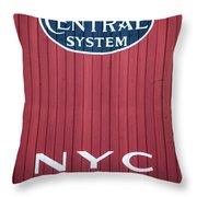 Nyc 19322 Throw Pillow