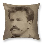 O Henry Throw Pillow