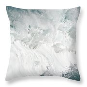Oahu Wave Throw Pillow