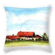 Oberendling Bavaria Throw Pillow