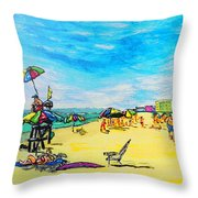 ocean/ Beach Throw Pillow