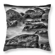 Ocean Break Throw Pillow