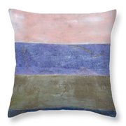 Ocean Series Xii Throw Pillow