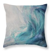 Ocean Song Throw Pillow