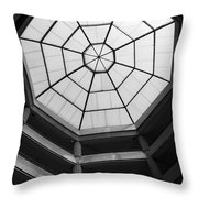 Octagon Skylight Throw Pillow