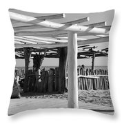 1 Of 55 Reasons To Visit Saint - Tropez Throw Pillow