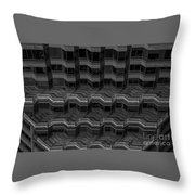 Office Building Abstract Throw Pillow