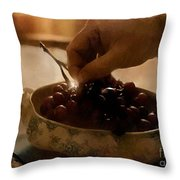 Oh Michael - Peel Me A Grape  Throw Pillow