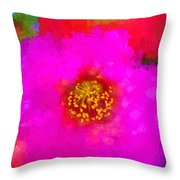 Oh What Colors Throw Pillow