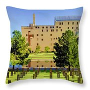Oklahoma City National Memorial Throw Pillow