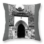 Old Cathedral In Turku Throw Pillow