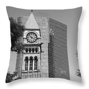 Old City Hall Throw Pillow