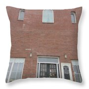Old Dance Hall Throw Pillow