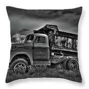 Old International - Bw 2 Throw Pillow