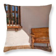 Old Mission San Luis Rey Throw Pillow