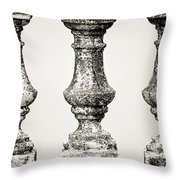 Old New Orleans - Sepia Throw Pillow