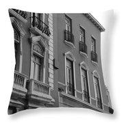 Old San Juan Puerto Rico Downtown  Throw Pillow