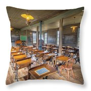 Old Schoolroom Throw Pillow