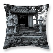 Old Shrine Throw Pillow