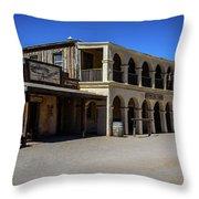 Old Tucson - Arizona Throw Pillow
