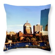 On The Charles Throw Pillow